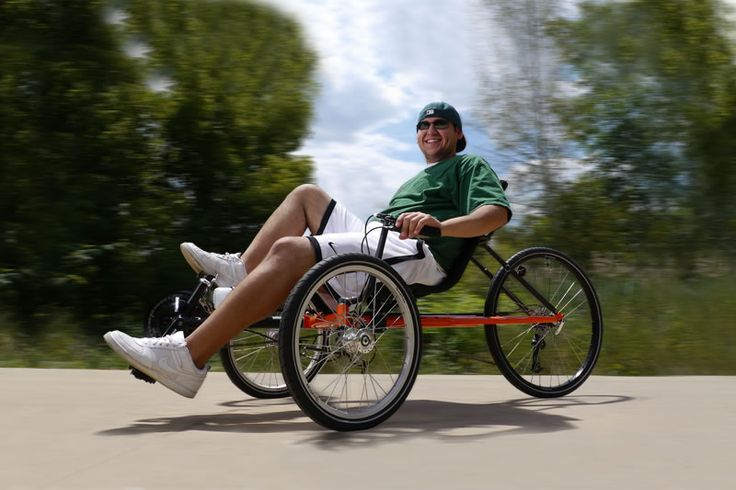 Terra Trike Rambler recumbent trikes our favorite ride for fun and exercise.