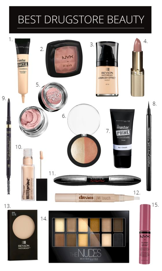 Best Drugstore Makeup (The Southern Style Guide)