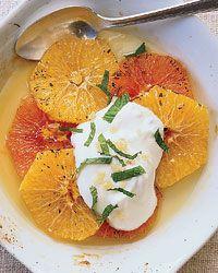 Gingered Orange Gratin Recipe on Food & Wine