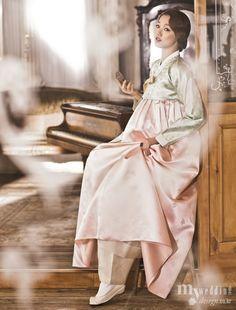 Hanbok, korean traditional clothes / My wedding / 기분 좋은 날, 흥겨운 날 / 황희우리옷 한복