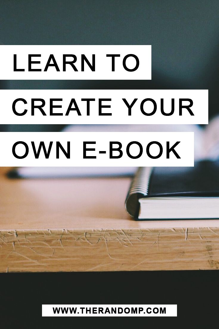 E-book creation for starters: How to write and publish your first e-book http://therandomp.com/blog/e-book-writing-experience-tips