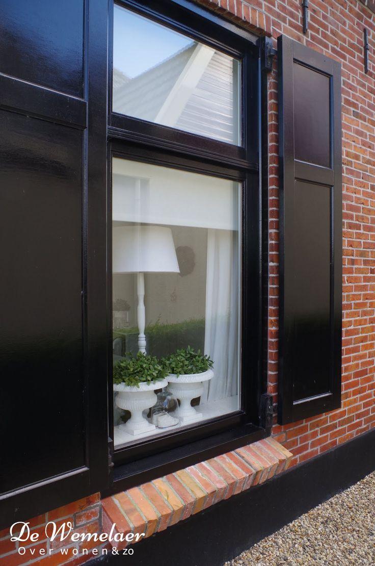 paneelluiken bij de ramen, of liever louvre?