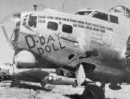 """""""D-Day Doll,"""" B-17 """"Flying Fortress."""""""