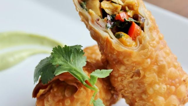 Recipes : Southwestern Egg Rolls | Recipesdaily4u