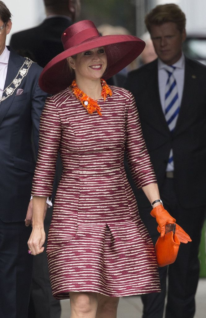 Queen Maxima of The Netherlands opens the Design Derby Netherlands - Belgium on June 19, 2015 in Rotterdam Netherlands.