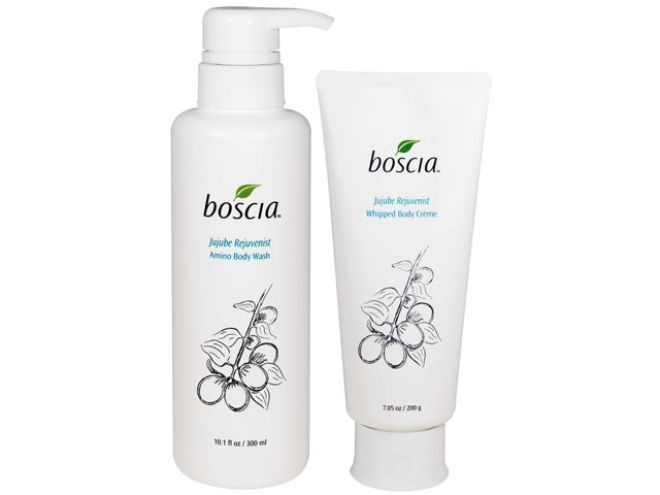 Jujube Rejuvenist Amino Body Wash and Whipped Body Crème | Boscia