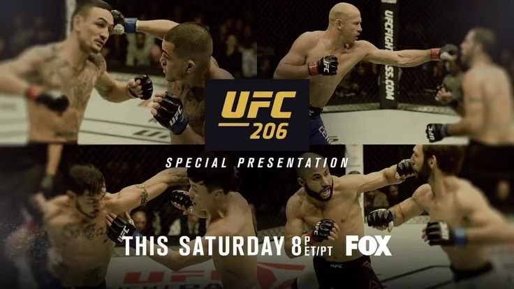 """Donald """"Cowboy"""" Cerrone had a career highlight at #UFC206! On Christmas Eve Dana White is giving us the gift of re-living it AGAIN!"""