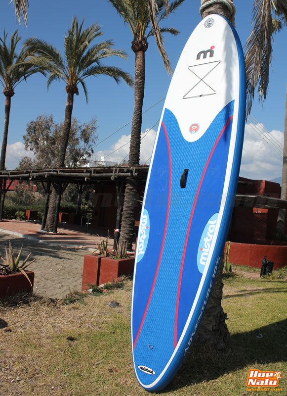 Review de la tabla de SUP hinchable Mistral SUP iCross Adventure 10