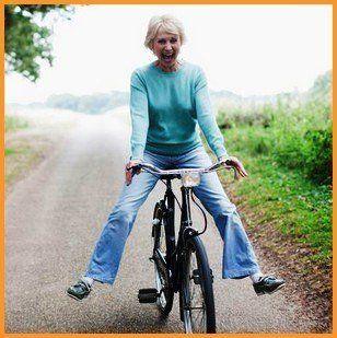 Ездить на велосипеде  полезно для здоровья