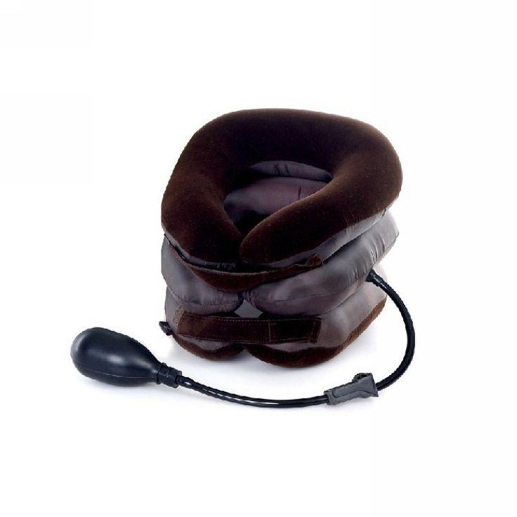 Venda quente Cervical colar Cervical ombro dor relaxe suporte travesseiro massageador almofada de ar tração suave em Body Pillows de Home & Garden no AliExpress.com | Alibaba Group