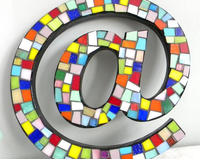 Stained Glass Mosaic Internetkeyboard At Symbol Multi Color