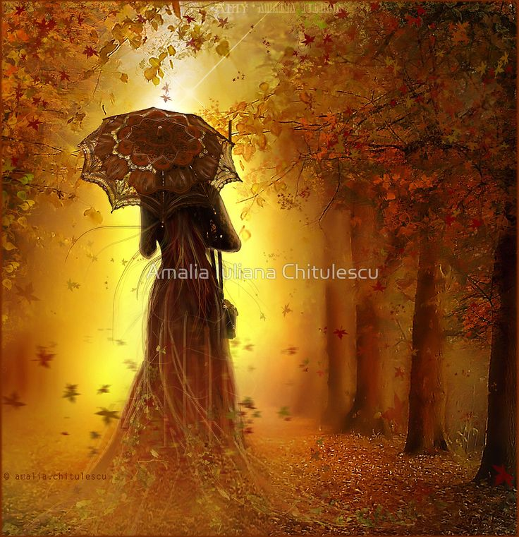 be my autumn     by Amalia Iuliana Chitulescu