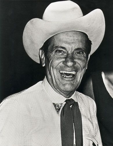 Ernest Tubb. Got to meet him many times.  What a nice guy.  Dang.  Never did ask him for an autograph
