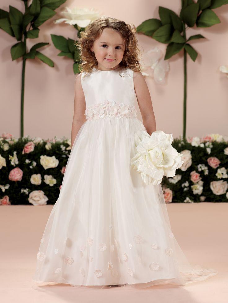 Weding Dress in Taffeta Flower Girl