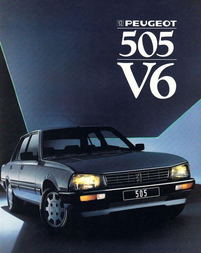 Peugeot 505 V6.