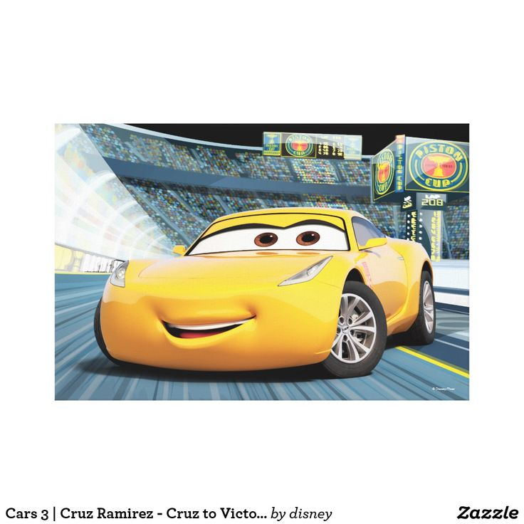 Lightning McQueen and Cruz Ramirez from Cars 3  Pixarized Cars
