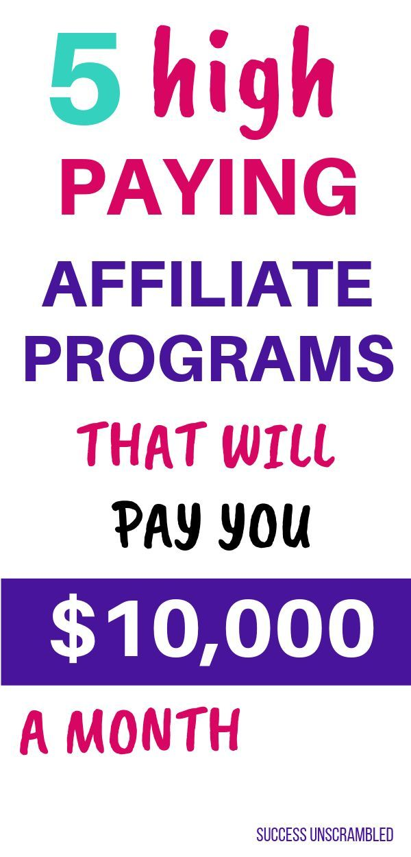 20+ High Paying Affiliate Programs That'll Pay You $10,000 A Month – Dheera Mallamapati