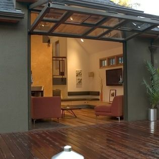 Home w/Glass Bi-Fold Door -