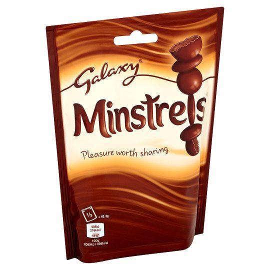 Galaxy Minstrels Chocolate Pouch 130G