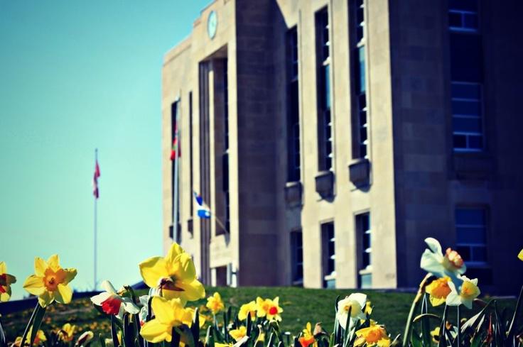 Huron County Courthouse, downtown Goderich, Ontario  #Goderich  #ArtDeco