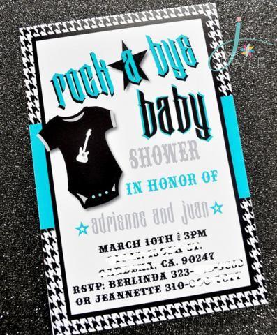 rock a bye baby invite...