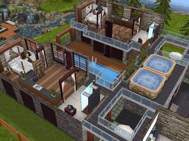 178 best The Sims Freeplay - House Designs images on Pinterest ...
