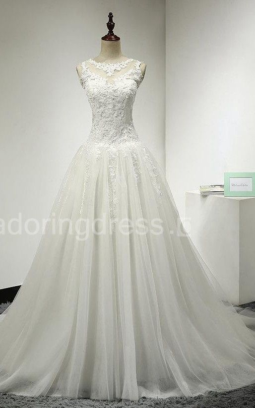 US$152.19-Elegant  Lace A-Line Tulle Bridal Gown 2016.https://www.junebridals.com/a-line-tulle-bridal-gown-with-lace-bodice-and-dropped-waist-pET_711352.html. Shop for Best wedding dresses, Lace wedding dress, modest wedding dress, strapless wedding dress, backless wedding dress, wedding dress with sleeves, mermaid wedding dress, plus size wedding dress, We have great 2016 fall Wedding Dresses on sale. Buy Wedding Dresses online at NewAdoringDress.com today!