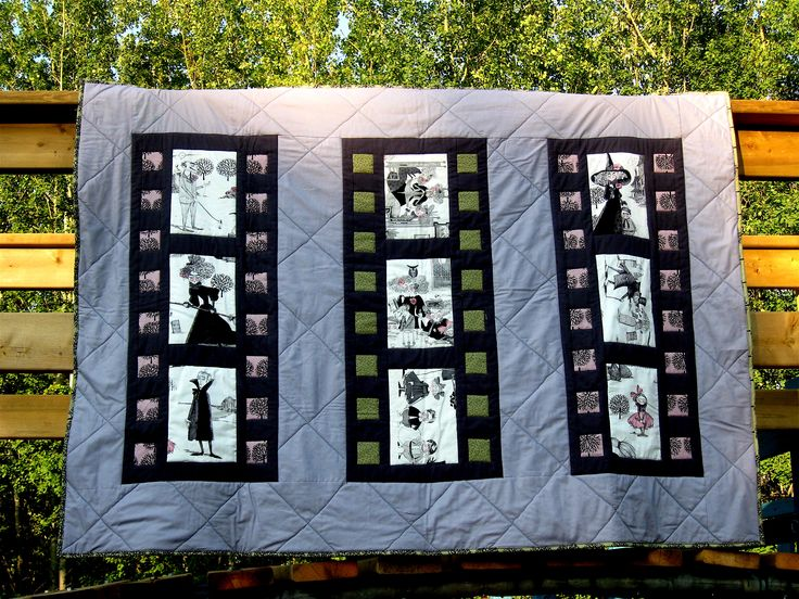 136 best quilts of film strips images on pinterest film strip ghastlies on film by miss muffet quilts toneelgroepblik Image collections