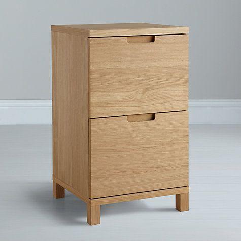 Buy John Lewis Abacus Narrow Filing Cabinet Online at johnlewis.com