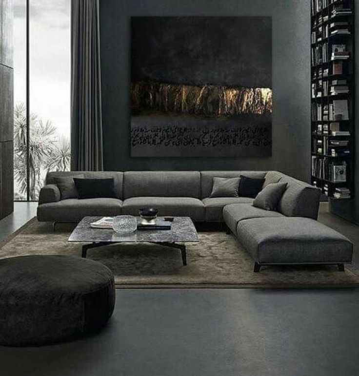 It Can Be Quite Confusing To Select The Particular Style Whenever You Are Just Going To Deco Masculine Living Rooms Living Room Sofa Design Living Room Designs