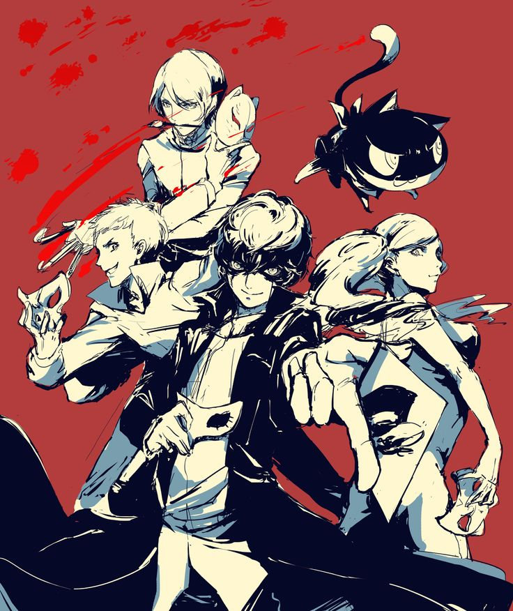 Persona 5>>> COMMIN THIS SUMMER YEAH