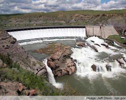 Stationed at Malmstrom AFB in 1996-2001 lived in Great Falls, Montana  Passed these waterfalls everytime I drove to walmart!