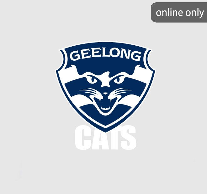 AFL Team Logo Quilt Cover Set and Accessories Range Geelong Cats