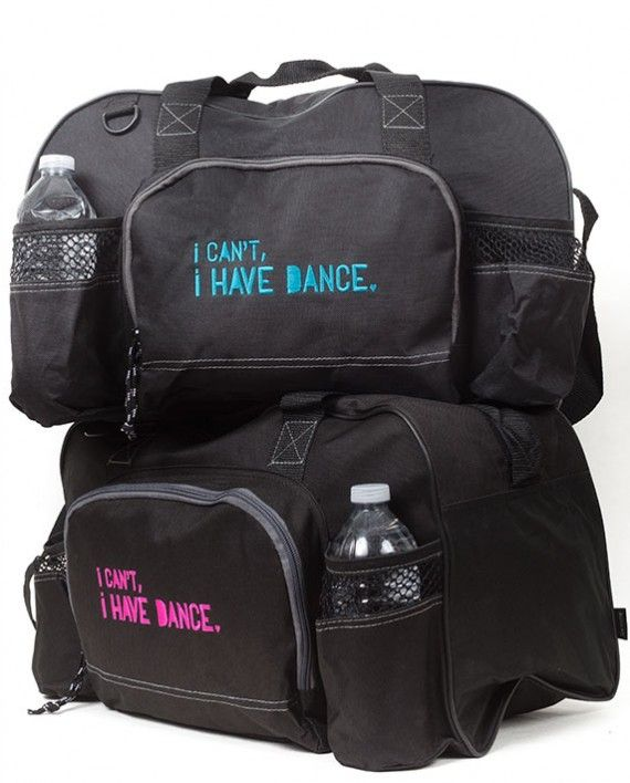 I Can't I Have Dance Bags