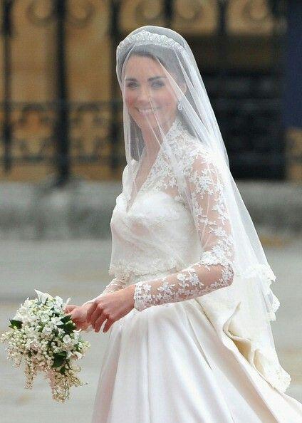 Bouquet mughetto e fiori d'arancio, Kate Middleton