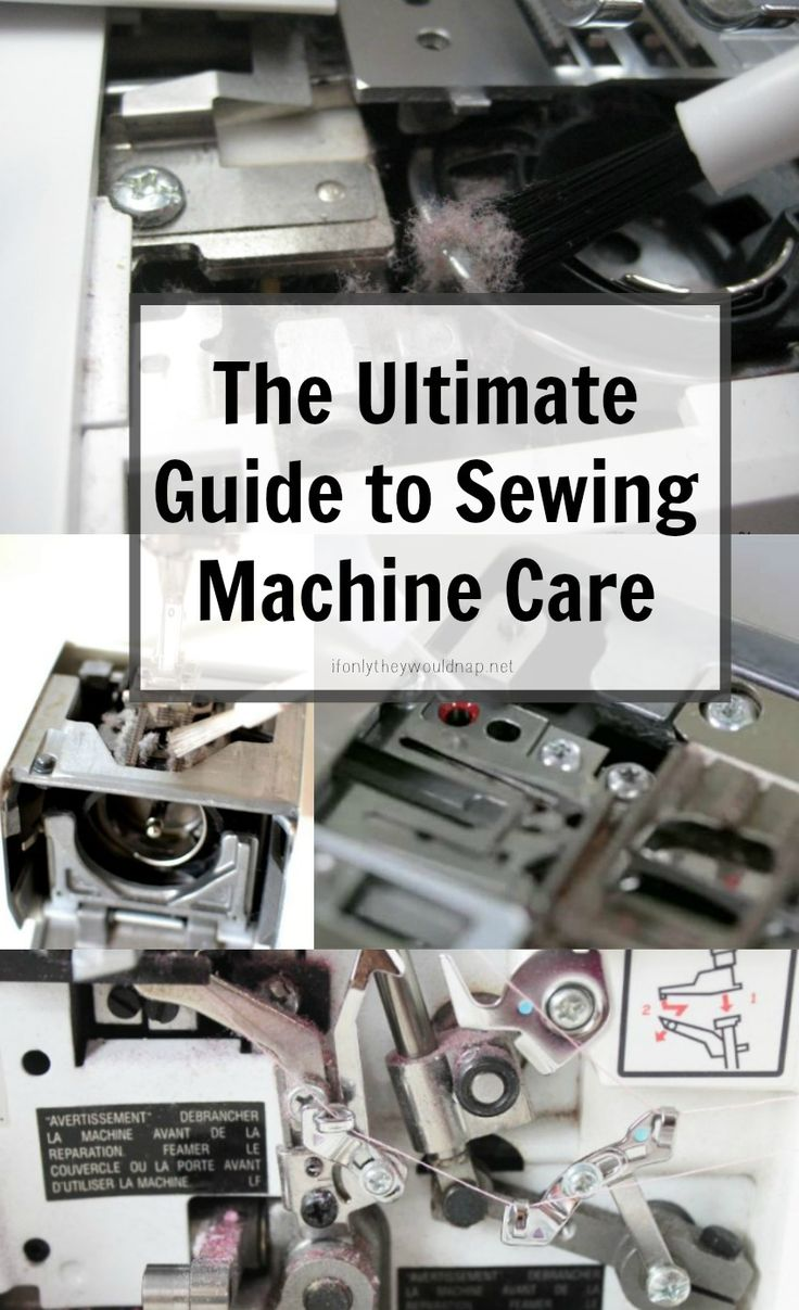 A re-linking of several good posts around the web of step-by-step tutorials on how to clean and oil your sewing machine.  Step-by-step photos and Videos.  [The Ultimate Guide to Sewing Machine Care]