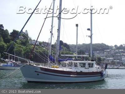 Fisher 34 MKII (1990) ever popular motor sailer incredibly well documented and maintained, massive inventory