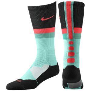 Nike Hyperelite Fanatical Crew Socks - White/Team Orange/Photo Blue