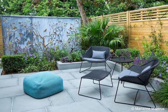 The Decorative Screen Garden - Sue Townsend Garden Design