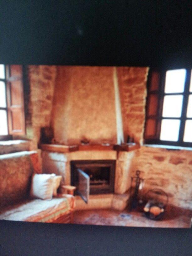 11 best CHIMENEAS RUSTICAS images on Pinterest   Fire places, Homes ...