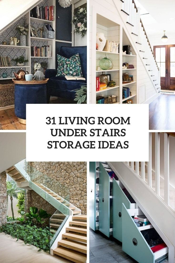 Modern Living Room Decorating Ideas Storage 31 Living Room Under Stairs Storage Idea In 2020 Small Living Room Decor Living Room Under Stairs Small Living Room Storage #small #living #room #storage #ideas