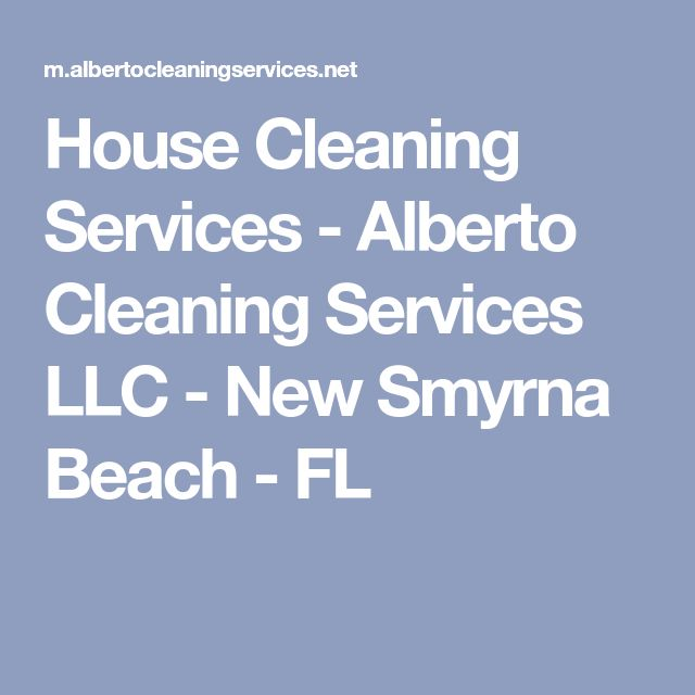 House Cleaning Services New Smyrna Beach Fl