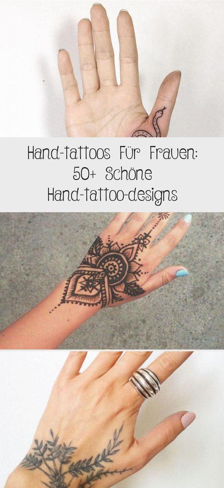 Hand-tattoos Für Frauen: 50+ Schöne Hand-tattoo-designs