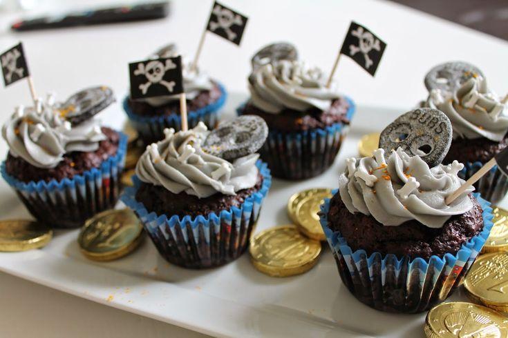 Marias Madside: Pirat cupcakes