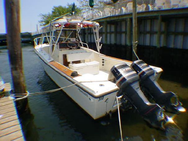 1985 Mako 284 CC Cuddy w 1999 Yamaha's Power Boat For Sale