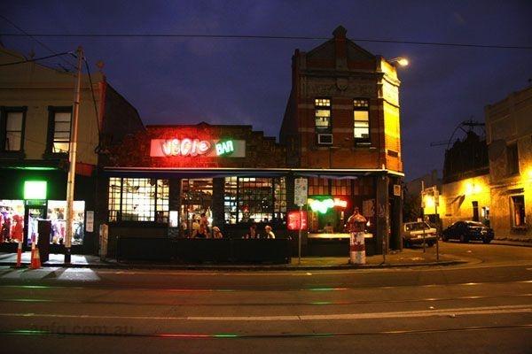 Vege Bar, Brunswick street, Fitzroy, Melbourne.. never had so many vego options...!!!
