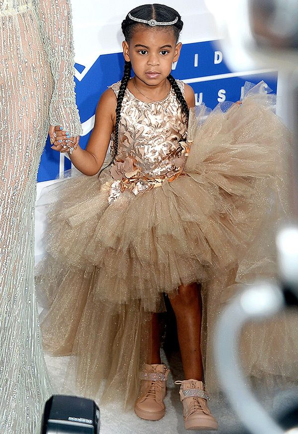Blue Ivy Carter attends the 2016 MTV Video Music Awards