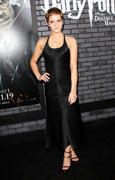 Emma Watson shines at New York Harry Potter premiere!