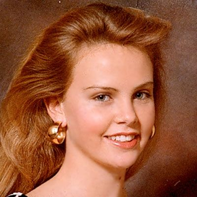 Charlize Theron in 1993 at 17