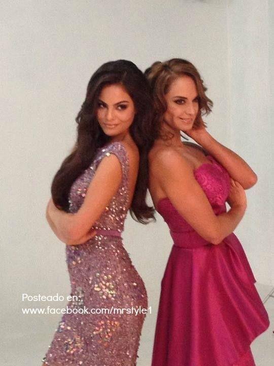Lupita Jones Miss Universo 1991 y Ximena Navarrete Miss Universo 2010